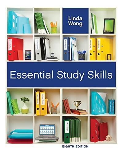 Essential Study Skills By Linda Wong