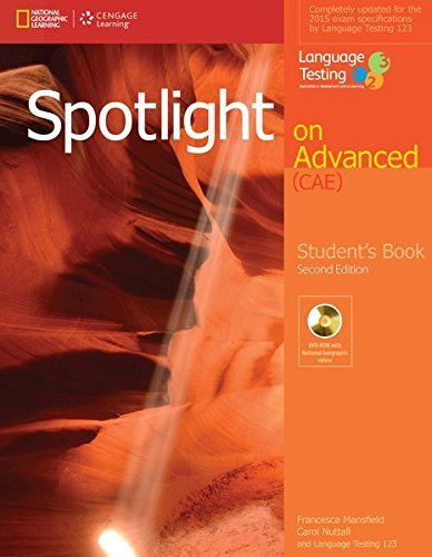 Spotlight on Advanced CAE, Students Book with DVD-ROM By Francesca Mansfield