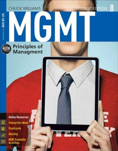 MGMT 8: A Resource Manual by Chuck Williams