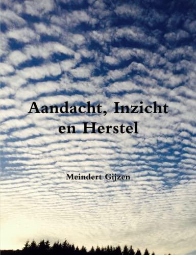 Aandacht, Inzicht en Herstel By Meindert Gijzen