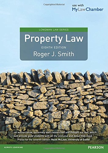 Property Law (Longman Law Series) By Roger Smith