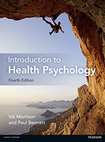 Introduction to Health Psychology By Val Morrison