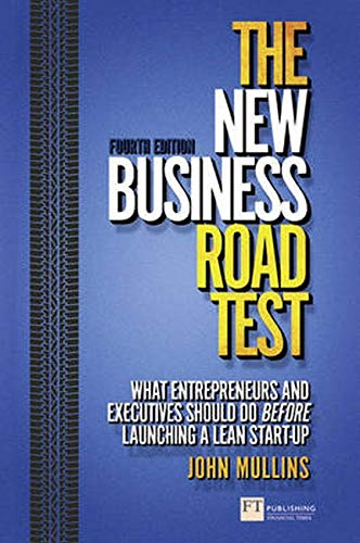 The New Business Road Test By John Mullins