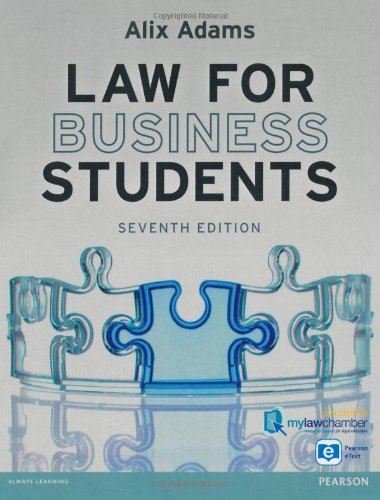 Law for Business Students premium pack by Alix Adams
