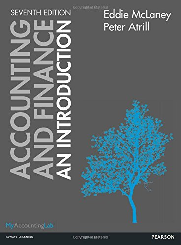 Accounting and Finance: An Introduction By Peter Atrill