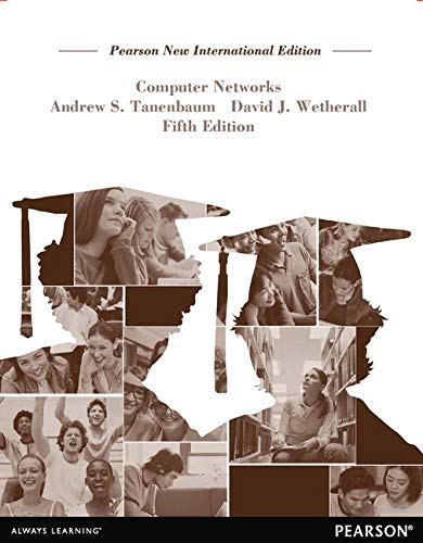 Computer Networks: Pearson New International Edition By Andrew S. Tanenbaum