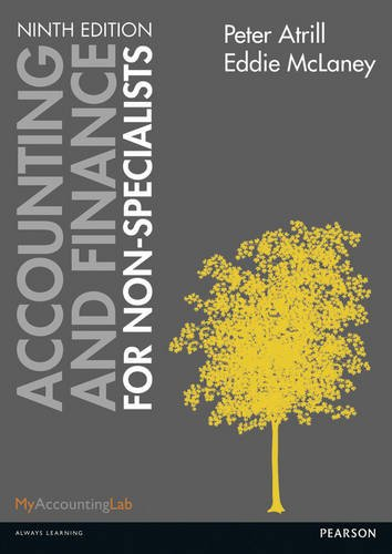Accounting and Finance for Non-Specialists by Eddie McLaney