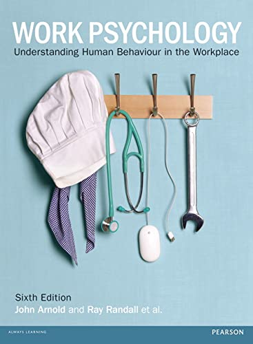 Work Psychology By Ray Randall
