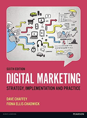 Digital Marketing By Dave Chaffey
