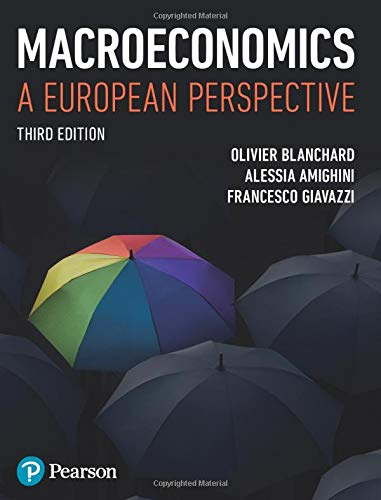Macroeconomics: A European Perspective By Olivier Blanchard