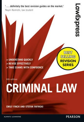 Law Express: Criminal Law by Emily Finch
