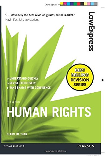 Law Express: Human Rights: Uk Edition (Law Express) By Claire De Than