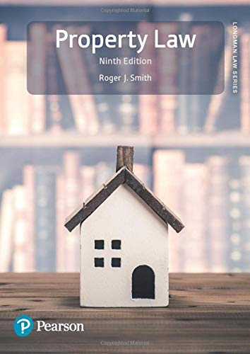 Property Law By Roger Smith