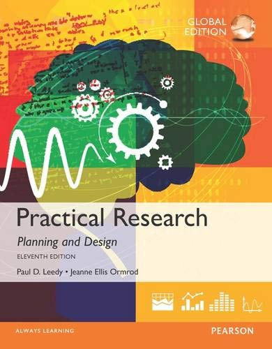 Practical Research: Planning and Design By Paul D. Leedy