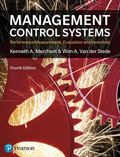 Management Control Systems By Kenneth Merchant