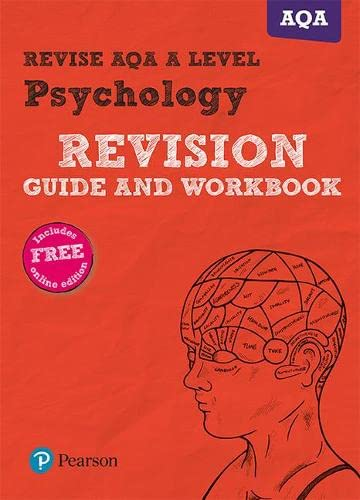 Revise AQA A Level Psychology Revision Guide and Workbook By Sarah Middleton