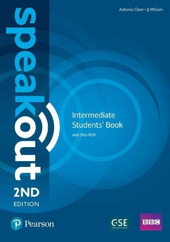 Speakout Intermediate 2nd Edition Students' Book and DVD-ROM Pack By Antonia Clare