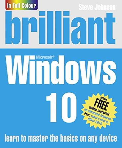 Brilliant Windows 10 By Steve Johnson