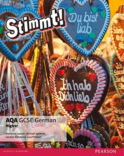 Stimmt! AQA GCSE German Higher Student Book von Harriette Lanzer