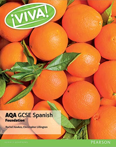 Viva! AQA GCSE Spanish Foundation Student Book By Christopher Lillington