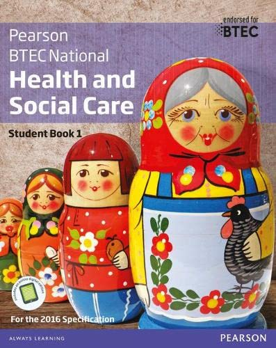 BTEC National Health and Social Care Student Book 1 By Marilyn Billingham