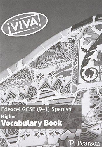 Viva Edexcel Gcse Spanish Vocabulary Boo