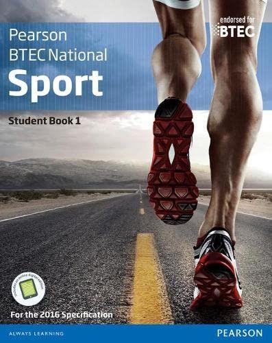 BTEC Nationals Sport Student Book 1 + Activebook By Adam Gledhill