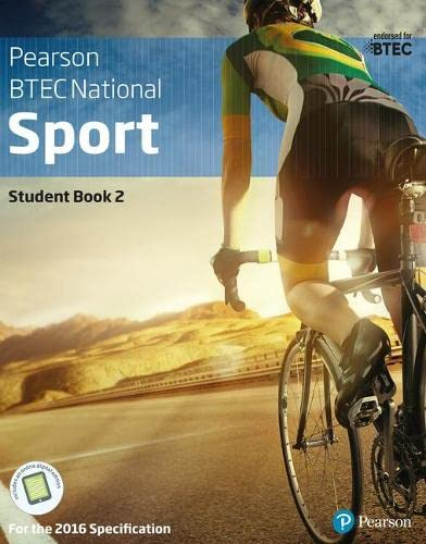 BTEC Nationals Sport Student Book 2 + Activebook By Adam Gledhill
