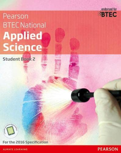BTEC National Applied Science Student Book 2 (Btec Nationals Applied Science) By Frances Annets