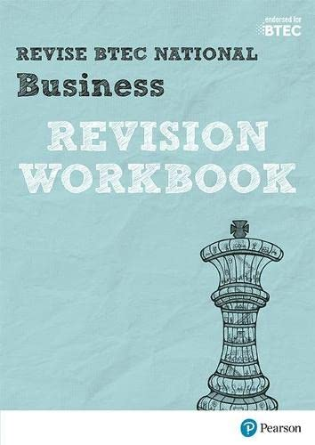 Revise BTEC National Business Revision Workbook By Claire Parry