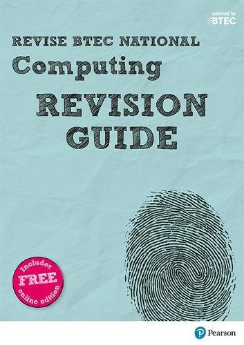Revise BTEC National Computing Revision Guide By Mr Richard McGill