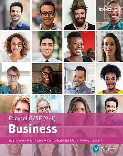 Edexcel GCSE (9-1) Business Student Book By Helen Coupland-Smith