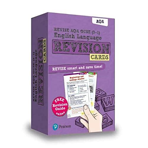 Revise AQA GCSE (9-1) English Language Revision Cards: with free online Revision Guide (GCSE English Language 2015)