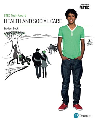 BTEC Tech Award Health and Social Care Student Book By Brenda Baker