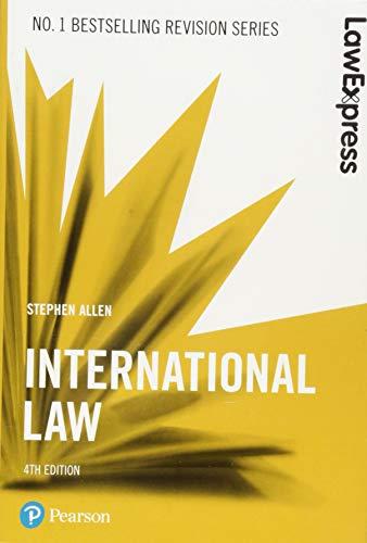 Law Express: International Law By Stephen Allen