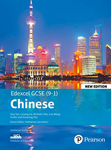Edexcel GCSE Chinese (9-1) Student Book New Edition By Hua Yan