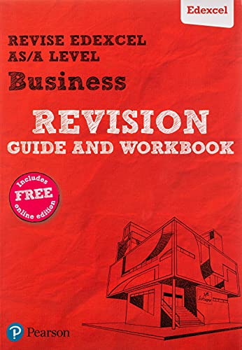 Revise Edexcel AS/A level Business Revision Guide & Workbook By Andrew Redfern
