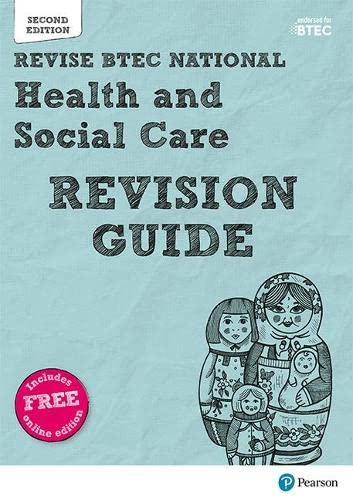 BTEC National Health and Social Care Revision Guide By Georgina Shaw
