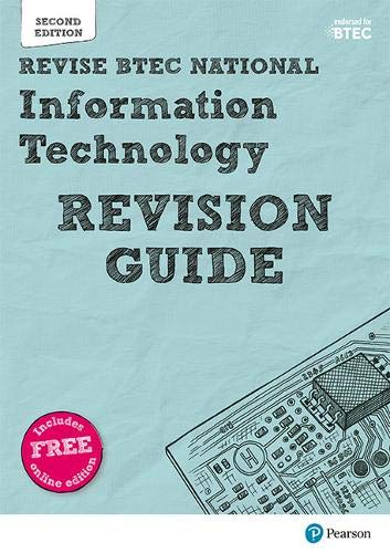 Revise BTEC National Information Technology Units 1 and 2 Revision Guide By Mr Alan Jarvis