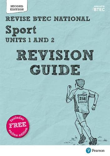 Revise BTEC National Sport Units 1 and 2 Revision Guide By Sue Hartigan