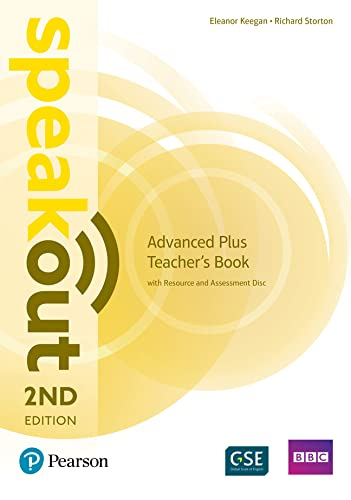 Speakout Advanced Plus 2nd Edition Teacher's Guide with Resource & Assessment Disc Pack By Eleanor Keegan