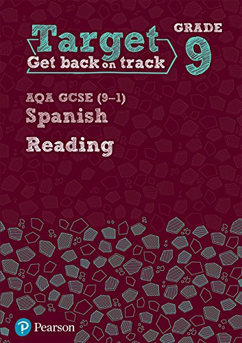 Target Grade 9 Reading AQA GCSE (9-1) Spanish Workbook