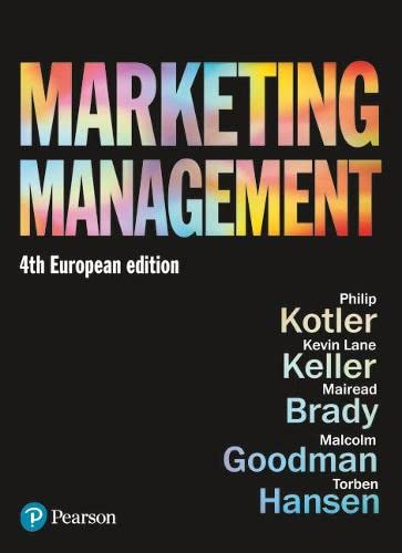 Marketing Management By Kevin Keller