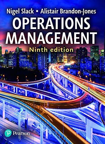 Operations Management By Nigel Slack