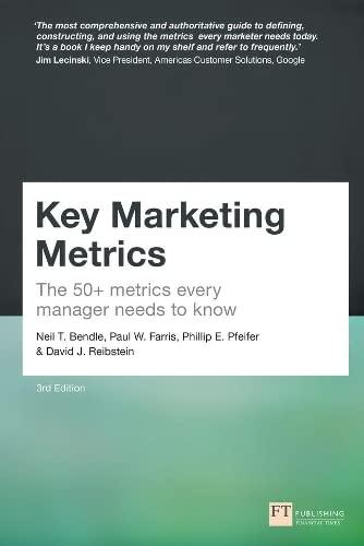 Key Marketing Metrics By Neil Bendle