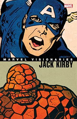 Marvel Visionaries: Jack Kirby By Jack Kirby