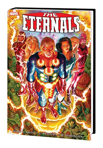 The Eternals: The Complete Saga Omnibus By Jack Kirby