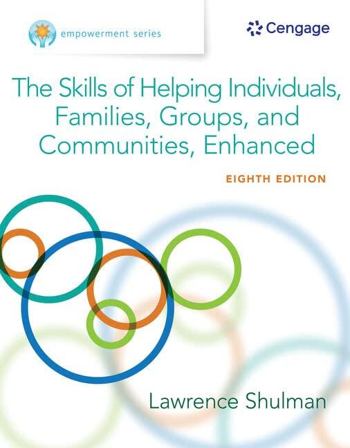 Empowerment Series By Lawrence Shulman (State University of New York, Buffalo)