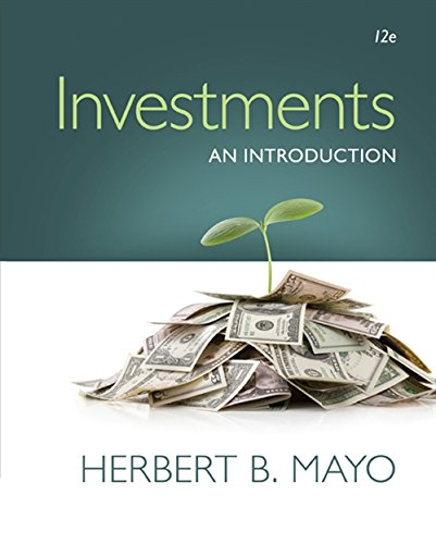 Investments By Herbert Mayo (The College of New Jersey)