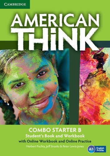 American Think Starter Combo B with Online Workbook and Online Practice By Herbert Puchta